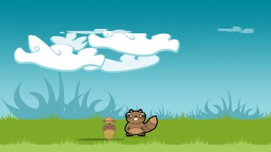 在玩游戏的同时,坚果将开始天上掉下,您点击每个坚果,松鼠会开始用头